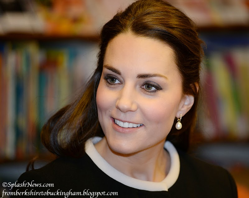 Kate Debuts New Goat Coat For Visit To Harlem Child Development Center British Consulate Luncheon