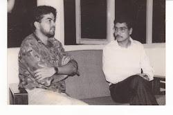 Mukesh sharma with Late Bhrigu Phukkan.....