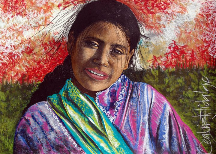 Beatriz Hidalgo De La Garza 1967 | Mexican painter | Soul of Mexico
