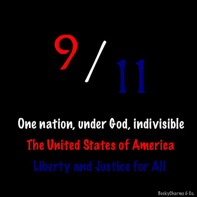 9/11 Septemeber 11th red white and blue