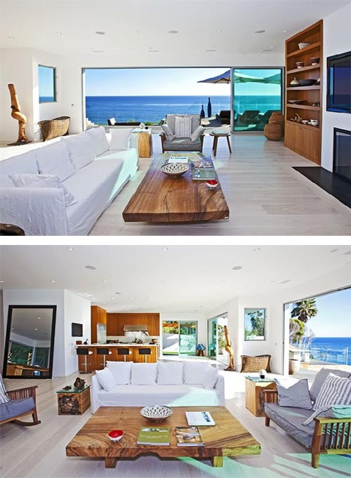 Interior design couture beach homes for California beach house interior design