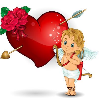 Imágenes de Amor para San Valentín con cupido