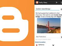 Blogger, Aplikasi Android Yang Hobi Ngeblog
