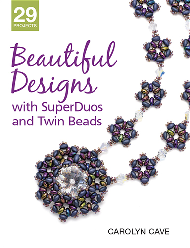 book review_beautiful designs with superduo and twin beads