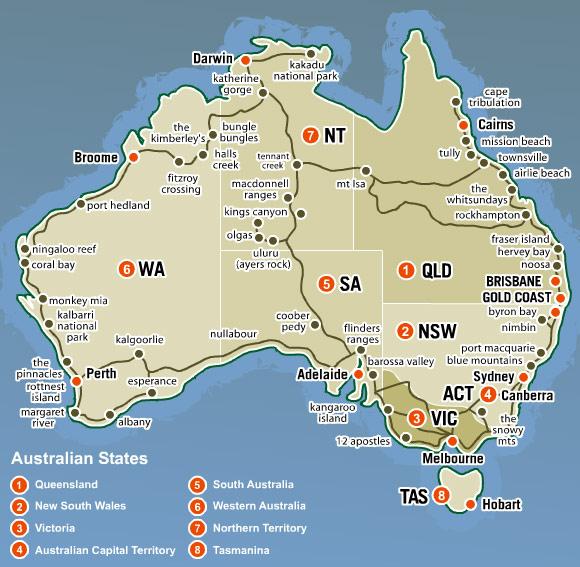 Best Maps Australia Map – Australia Full Map