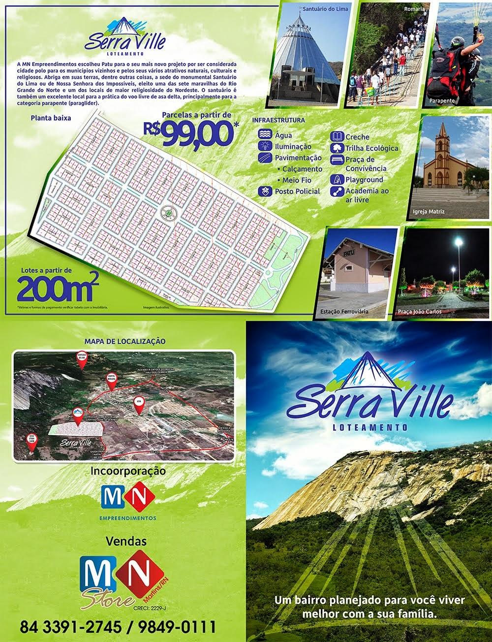 SERRA VILLE - LOTEAMENTO