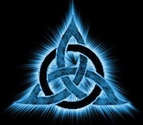 triquetra triquerta power awakening spell charmed magic magick magical wicca witch mage sorcerer shaman druid