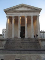 Roman temple, Nimes, France