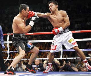 Juan Manuel Marquez and Manny Pacquiao fight 3