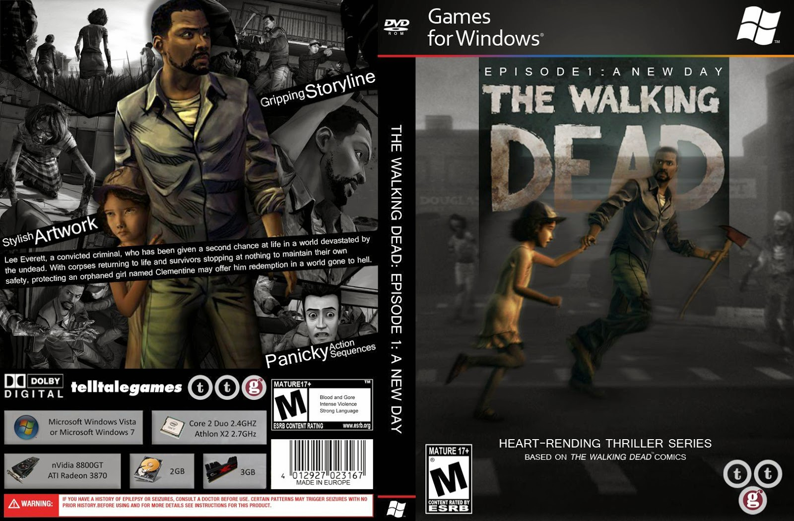 Capa The Walking Dead Episode 1 A New Day PC