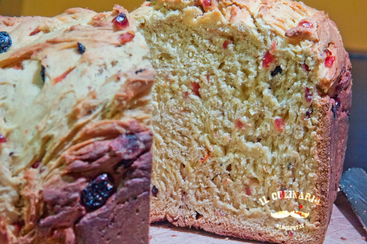 pan dolce ai frutti rossi: ricetta per la macchina del pane