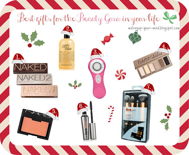 Christmas gift ideas for a makeup lover/beauty junkie!