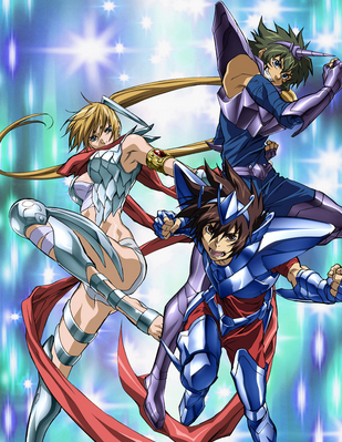 Saint Seiya The Lost Canvas audio Latino