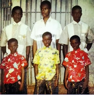 Photo of  P-Square And Their Brothers Back In The Day