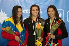 Nadadora merideña lució tricolor nacional en Veracruz 2014