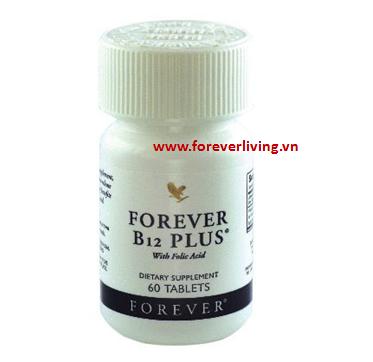Forever B12 Plus bổ sung Vitamin B12 và acid Folic Mã Số : 188