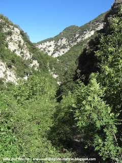 Il Canyon del Matese, la Valle dell'Inferno