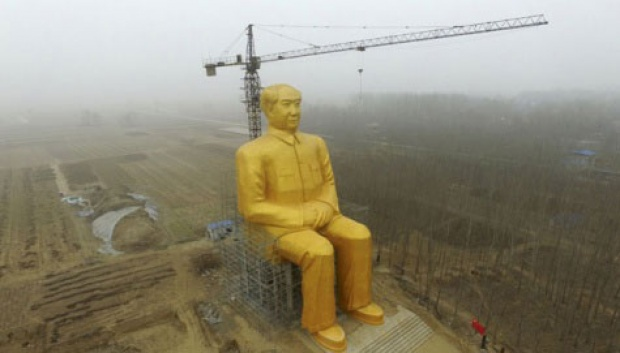 Patung Raksasa Mao Zhedong