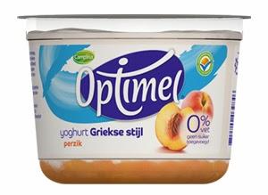 Optimel yoghurt Griekse stijl: ideaal voor fitness, krachttraining, afvallen en diëten
