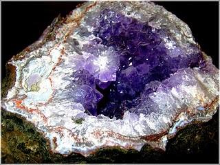 Fossiles descloizite-vanadinite Maroc  Mido