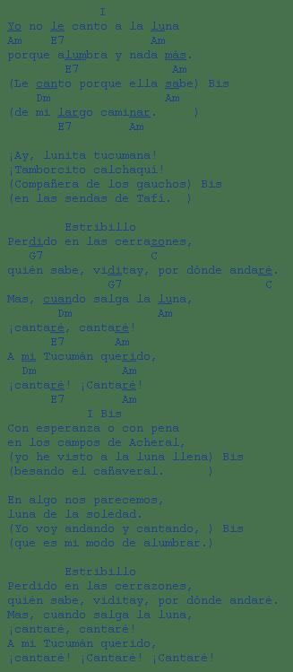 letra zamba: