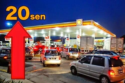 Harga Petrol RON95, RON97 Dan Diesel 1 April