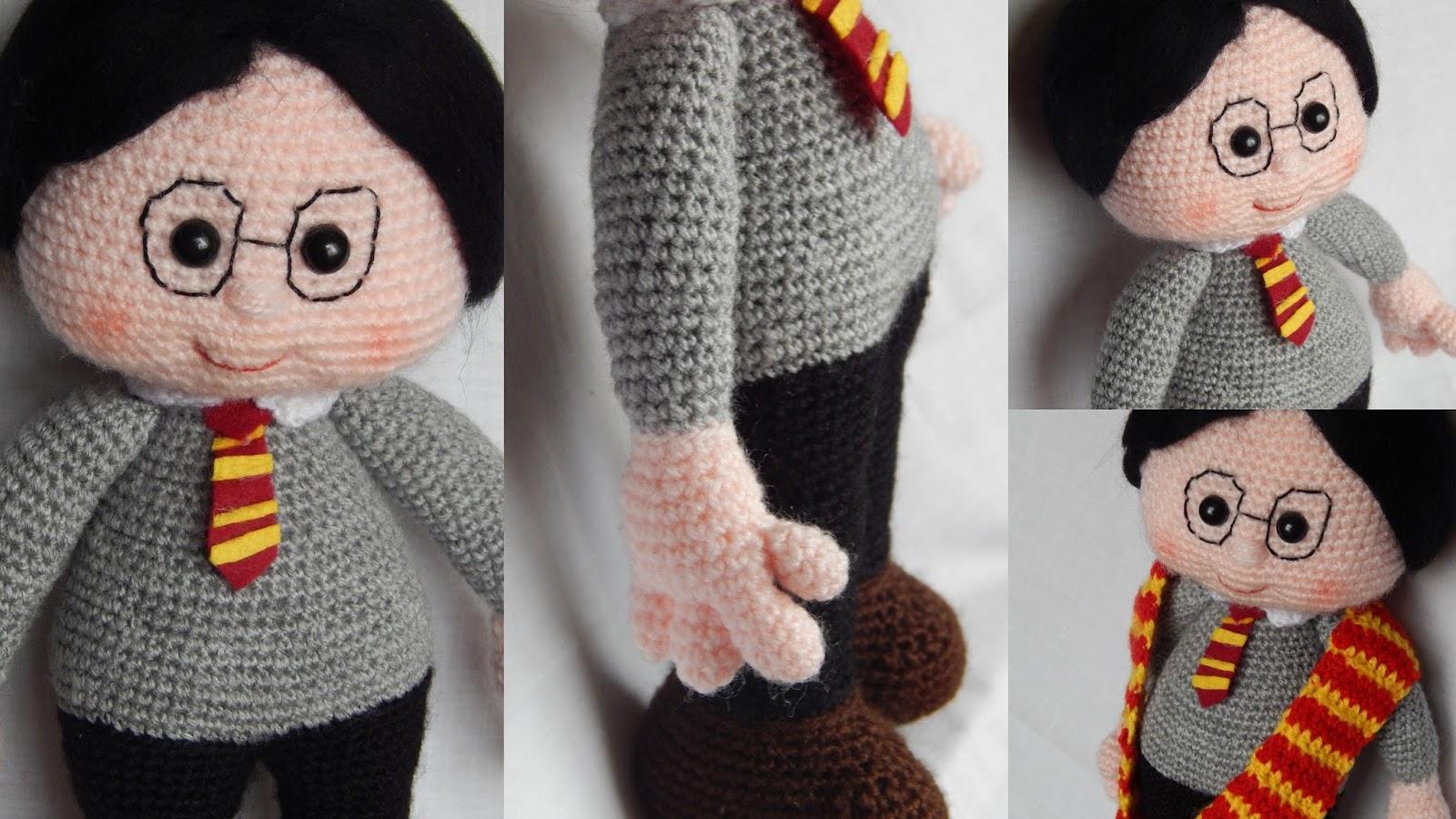 Patrones Amigurumi Harry Potter : AWESOME NEEDLES: FRIKIRETO OCTUBRE: HARRY POTTER PATRoN PROPIO