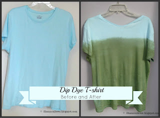 Dip Dye a T-shirt Instructions