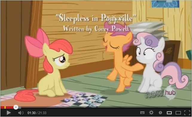My Little Pony: Friendship is Magic - Sleepless in Ponyville