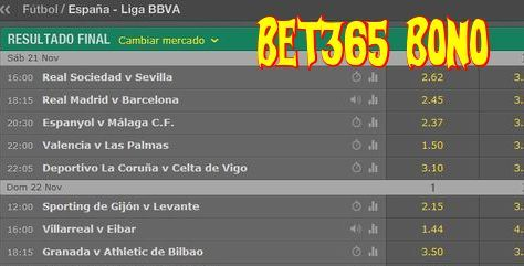 bet365 bono para apuestas deportivas online y el clásico