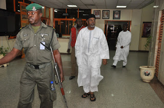 Sambo Dasuki in Court