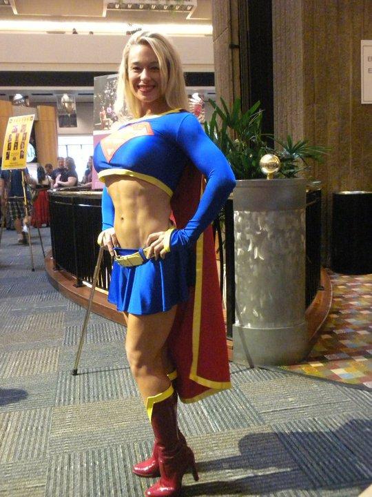 Megan Avalon Muscle