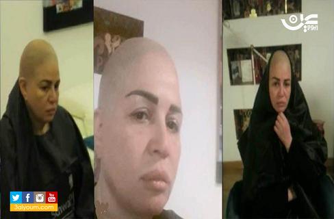 مصر: الهام شاهين تفاجئ جمهورها بحلق شعرها بالكامل