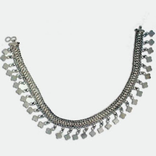 Indian Silver Anklets