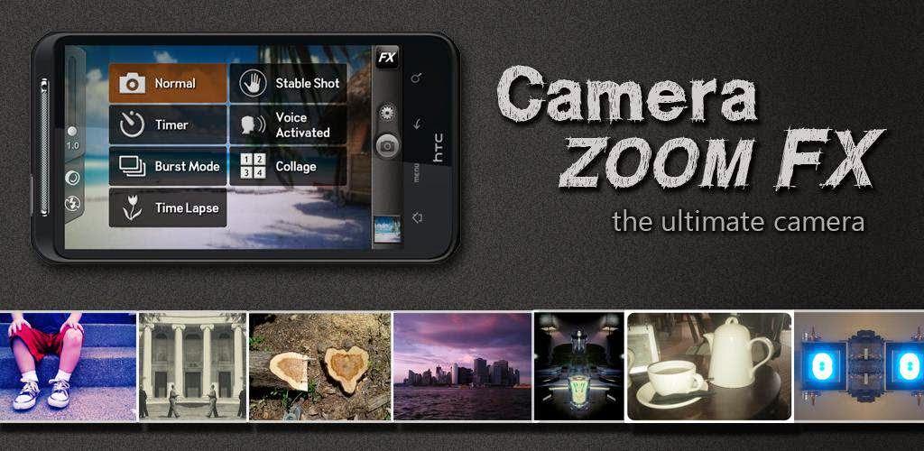 Aplikasi Kamera Android Keren - Camera Zoom FX