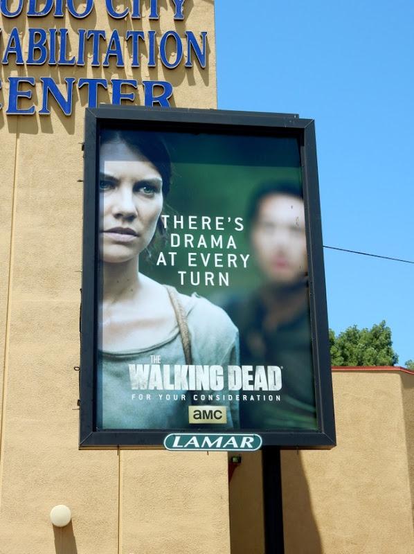Walking Dead Emmy 2015 Maggie poster