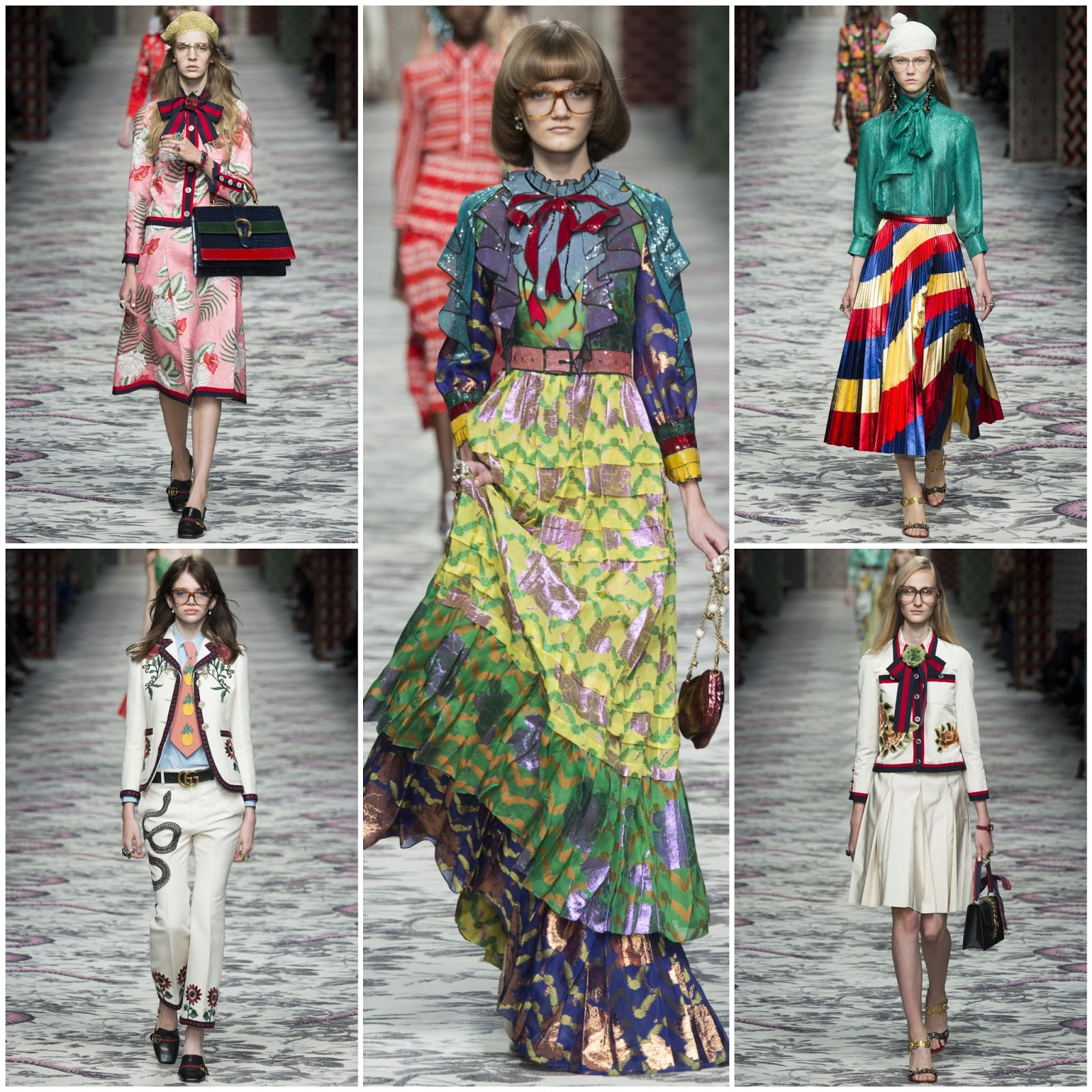 Super RUNWAY REPORT..Gucci Spring/Summer 2016 | Nick Verreos MI14