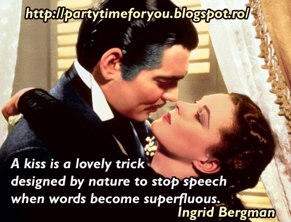 A kiss is a lovely trick designed by nature to stop speech when words become superfluous.