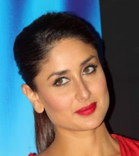 Kareena Kapoor: Square face with Curved / S-Shape Eyebrows