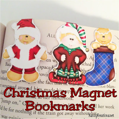 Decorate your planner, scrapbook, or book this Christmas while holding your spot in a cute way. These magnet bookmarks are a great Christmas gift or can be used to keep your place. Talk about a fun and easy Christmas DIY!