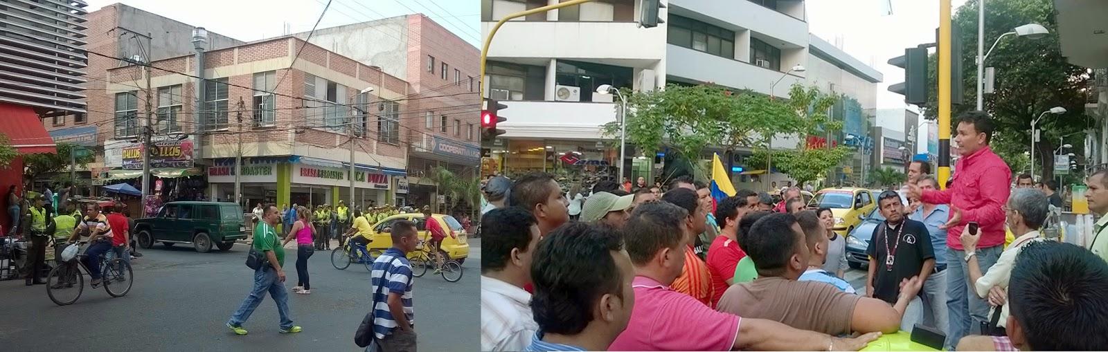 policia-se-toma-el-centro-de-cucuta--taxistas-protestan-pacíficamente--implementan-sistema-de-identificacion-biometrica-en-notarias-y-otras-noticias