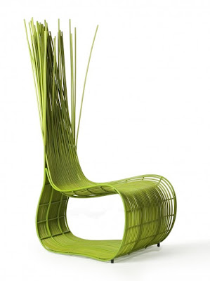 Kenneth Cobonpue green chair