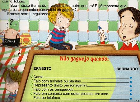 Ernesto O Menino com Gaguez - Não gaguejo quando...