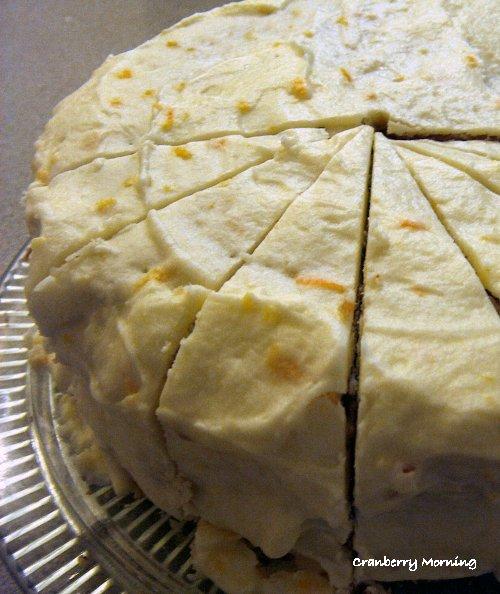 Williamsburg Orange Cake