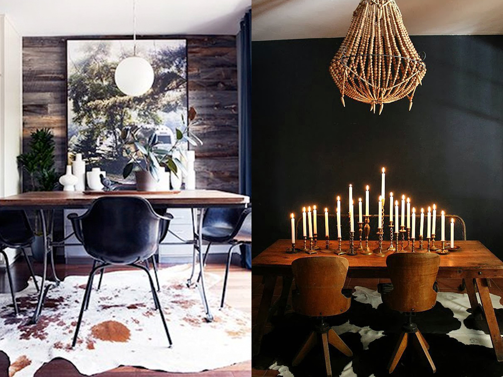 Cowhides And Dining Rooms?