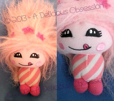 Bubblegum Cutesie Plush Doll