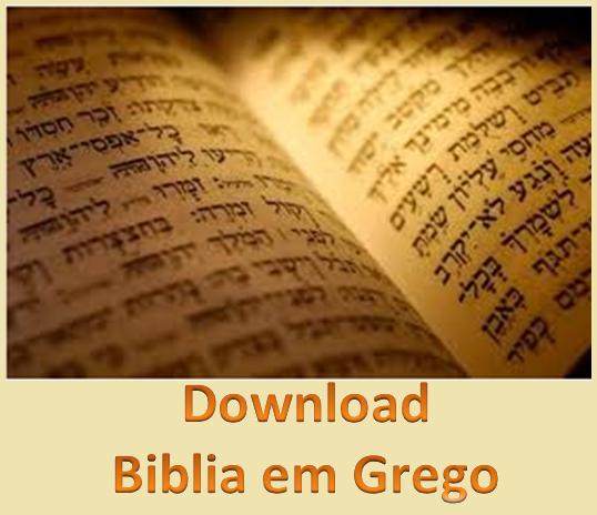 BIBLIA EM GREGO