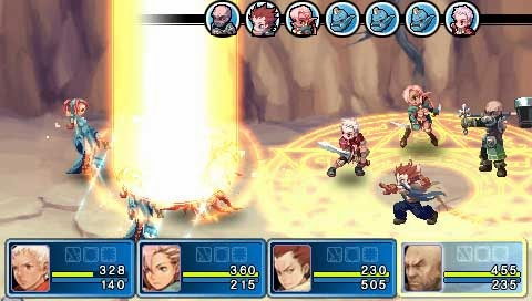 Astonishia Story Kakusei PSP ISO Screenshoot 2