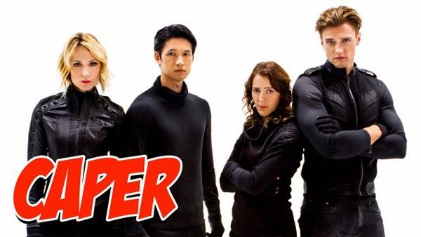 Caper: ¿una sitcon con superhéroes en crisis?