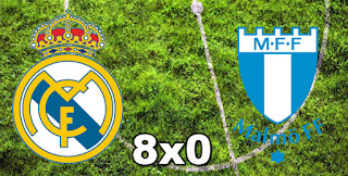Real Madrid 8x0 Malmo